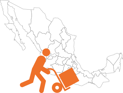 Cobertura Envíos en México